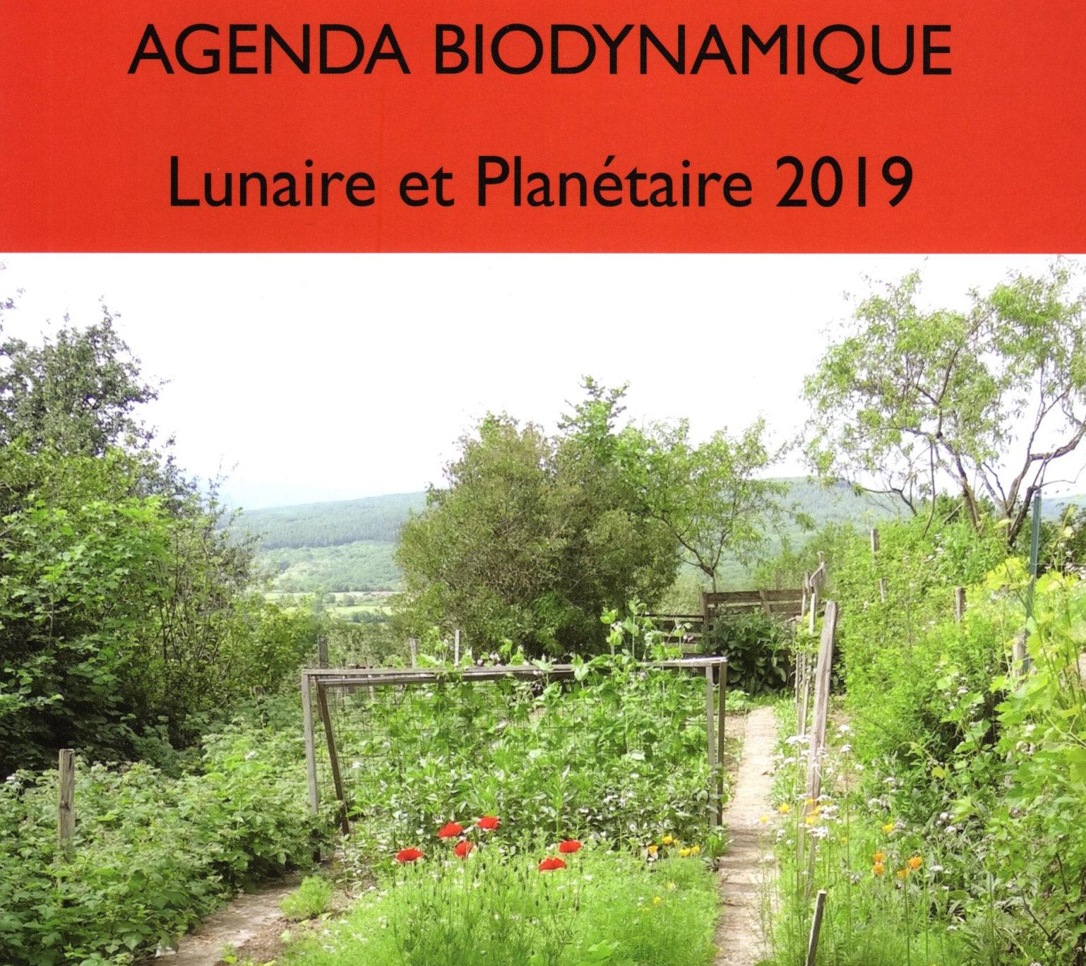 Calendrier Des Semis Biodynamique.A Agenda Biodynamique Lunaire Et Planetaire 2019